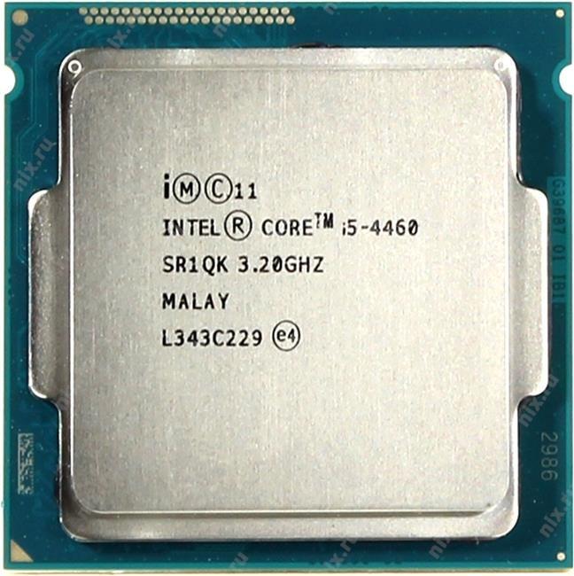 Процессор INTEL Core i5 4-го поколения Core i5-4460 Processor