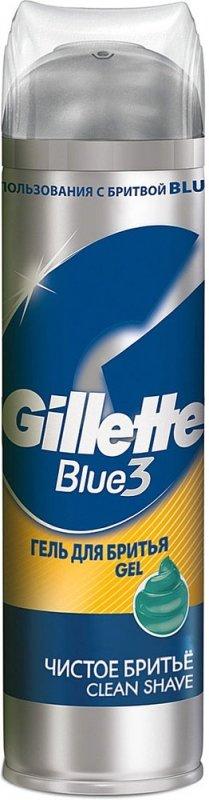 Гель для бритья GILLETTE чистое бритье, 200 мл