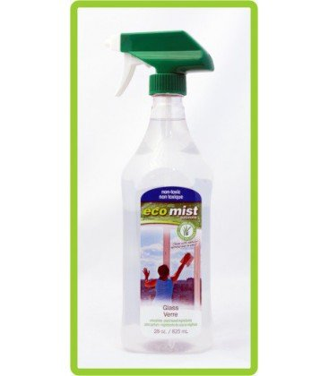 "Средство для мытья стекол, зеркал ""Glass"", 825 мл, EcoMist"
