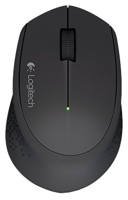 Мышь Logitech Wireless Mouse M280 Black USB