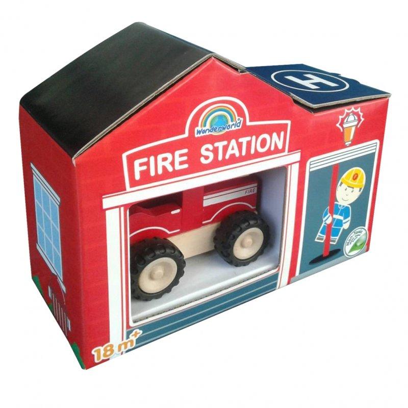 Игровой набор Wonderworld WW-4084 Чудо-Пожарные