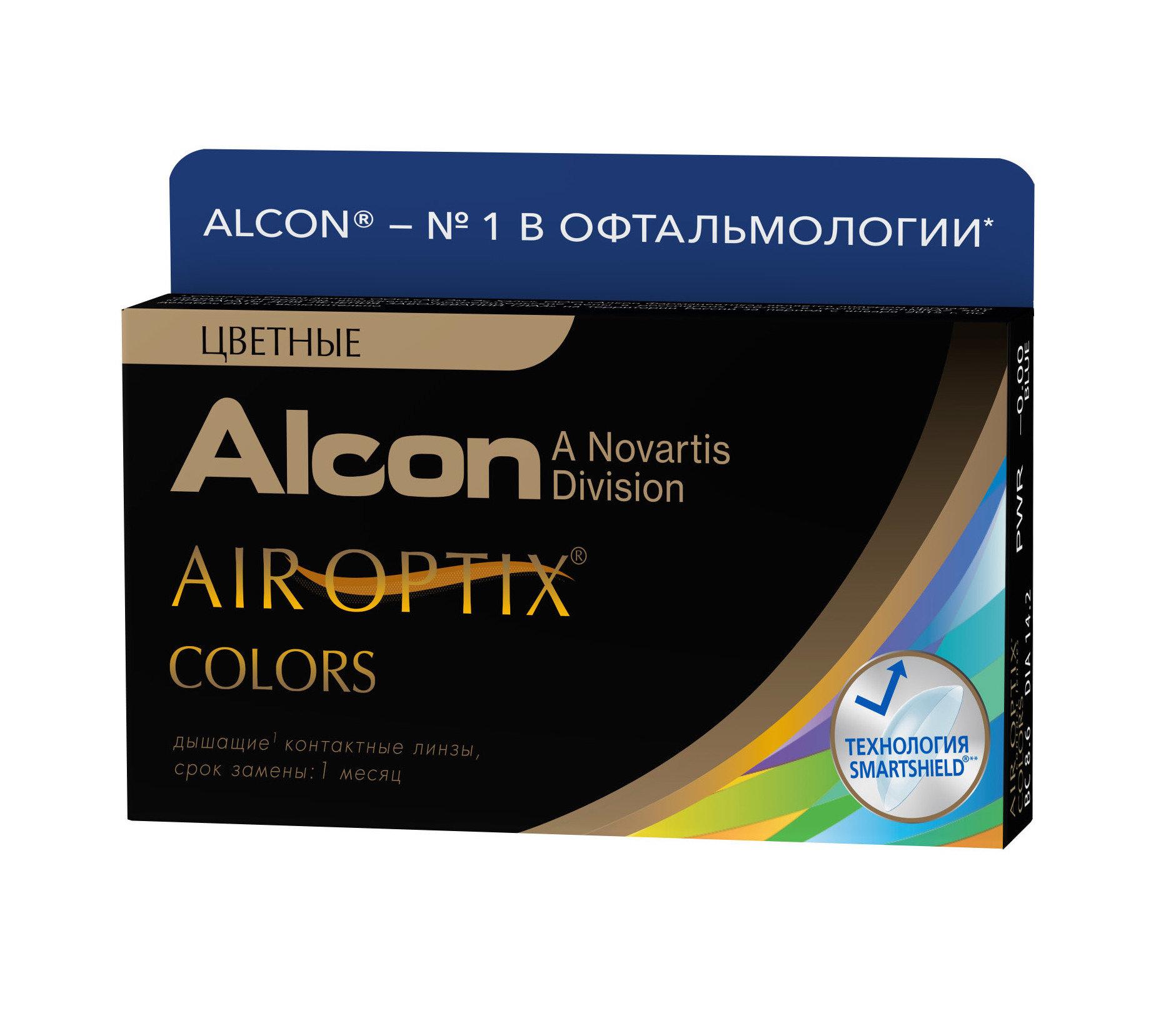 Контактные линзы AIR OPTIX COLORS (2 линзы)