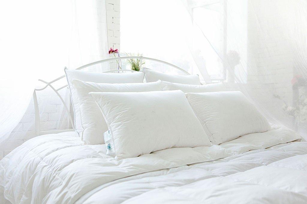 Одеяло из пуха Воздушный вальс (белый), Одеяло 200x220 стандартное