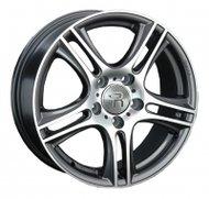Диски LS Wheels 838 6,5x15 5x112 D57.1 ET45 цвет GMF (темно-серый,полировка) - фото 1