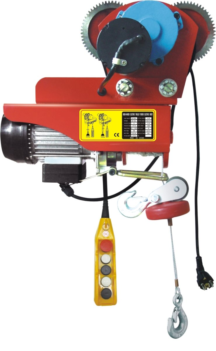 Тельфер электрический с тележкой 250 кг 12 м TOHO HDGD-500C