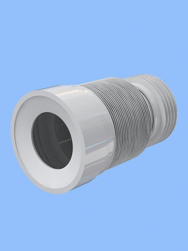 Труба для унитаза Анипласт ф110 L 230-500мм Santek 12357/К828