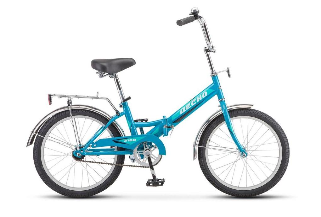 Городской велосипед Десна 2100 20 13 голубой (требует финальной сборки)