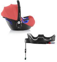 Автокресло Britax Roemer Комплект: автокресло Baby-Safe i-Size (группа 0+, до 13 кг) + база FLEX Coral Peach