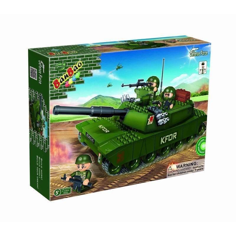 "Конструктор ""Танк"", 119 деталей Banbao (Банбао) - BANBAO - 8246"
