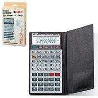Калькулятор STAFF STF-169, 10+2 разряда, инженерный двухстрочный