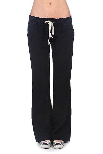 Штаны широкие женские Roxy Oceanside Pant J Ndpt True Black