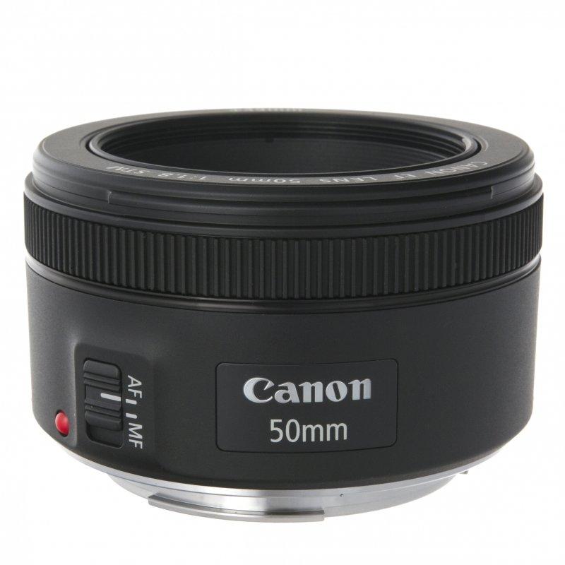 Объектив CANON EF 50mm 1.8 STM