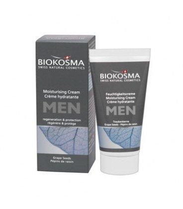 Увлажняющий крем для лица мужской, 50 мл, Biokosma