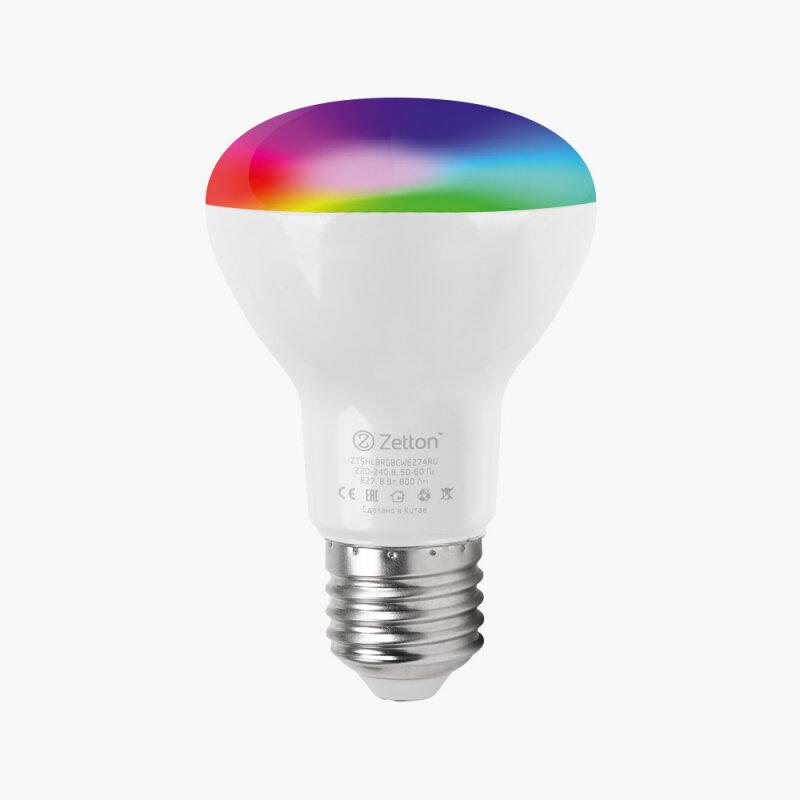 Лампа Zetton E27 8Вт 6500K фото 1