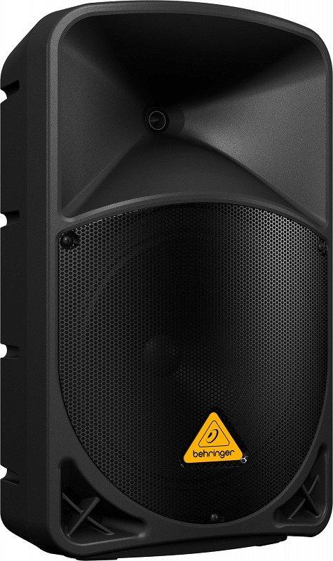 BEHRINGER B112D активная 2-х полосная (12` + 1,35`) акустическая система 1000 Вт, 2 порта для радиомикрофонов, 2-канальн. микшер