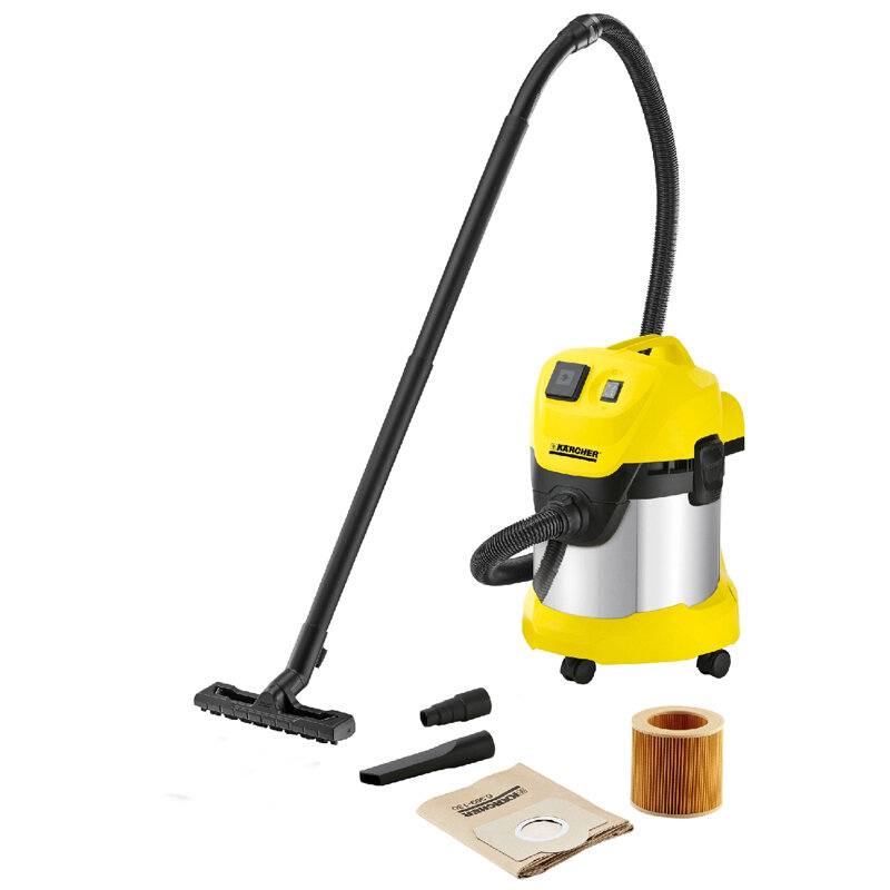 Пылесос для сухой и влажной уборки Karcher WD 3 P Premium