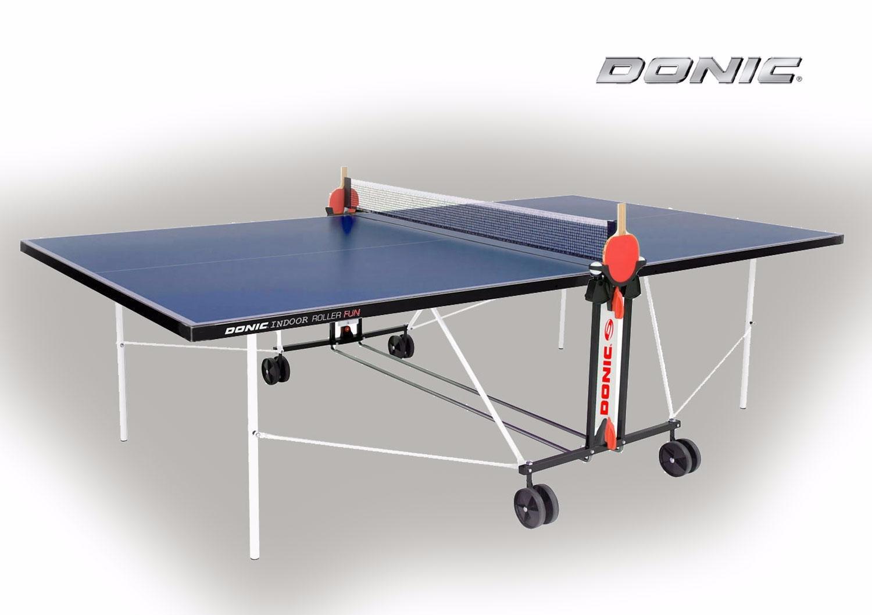 Теннисный стол Donic Outdoor Roller FUN синий