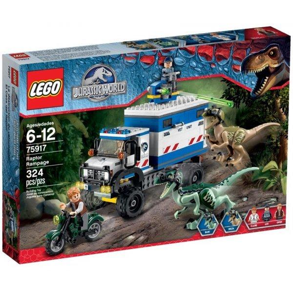 Конструктор Lego Jurassic World 75917 Ярость ящера