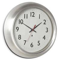 интерьерные часы Umbra Часы настенные Station, 36.5 см, алюминий, серебристый