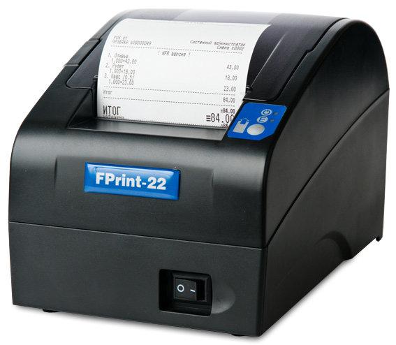 Фискальный регистратор АТОЛ- FPrint 22ПТК ФН. RS+USB+Ethernet