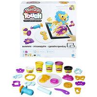 """Пластилин Hasbro Play-Doh B9018 Игровой набор """"Лепи и делай причёски"""""""