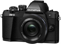 Фотоаппарат со сменной оптикой Olympus OM-D E-M10 Mark II Kit 14-42mm EZ (черный)
