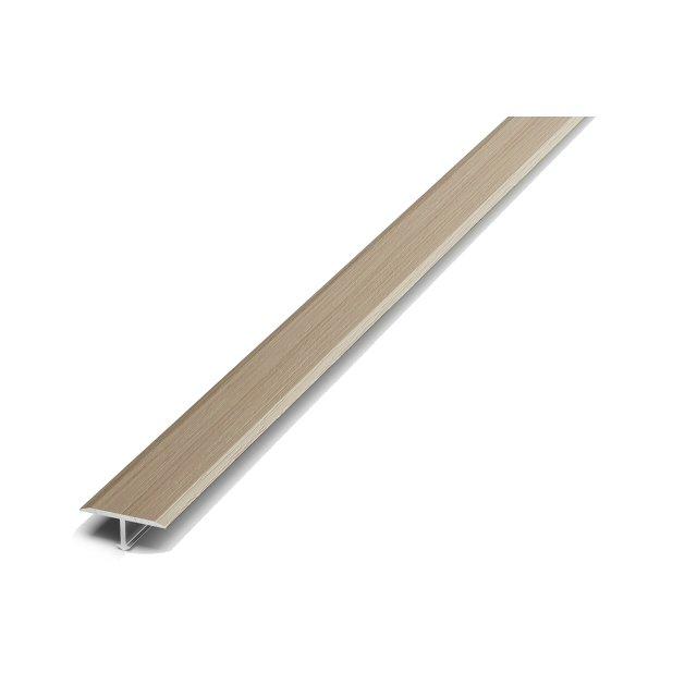 порог алюминиевый Т-обр. 20 мм 1,35 м ламинированный дуб арктик ЛС10