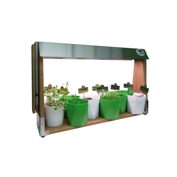 Чистая усадьба Огород на подоконнике с регулируемой высотой
