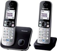Радиотелефон Радиотелефон DECT Panasonic KX-TG6812RUB черный