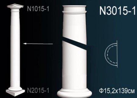 Лепнина Perfect N3015-1 Полуколонна
