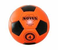 Мяч футбольный Novus Crystal Futsal, PVC foam, размер 4, оранжевый/чёрный
