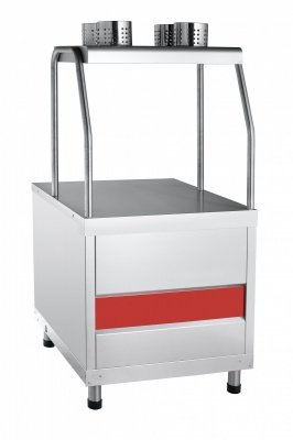 Прилавок для столовых приборов и подносов Abat ПСП-70КМ (Чувашторгтехника)