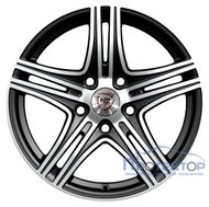 NZ Wheels F-6 BKF 7x17/5x112 D66.6 ET40 - фото 1