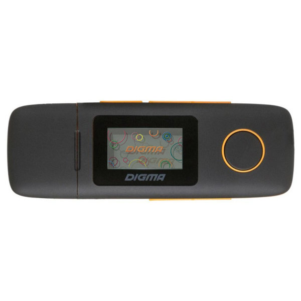Медиаплеер Digma U3 4Gb Orange Артикул: 10381