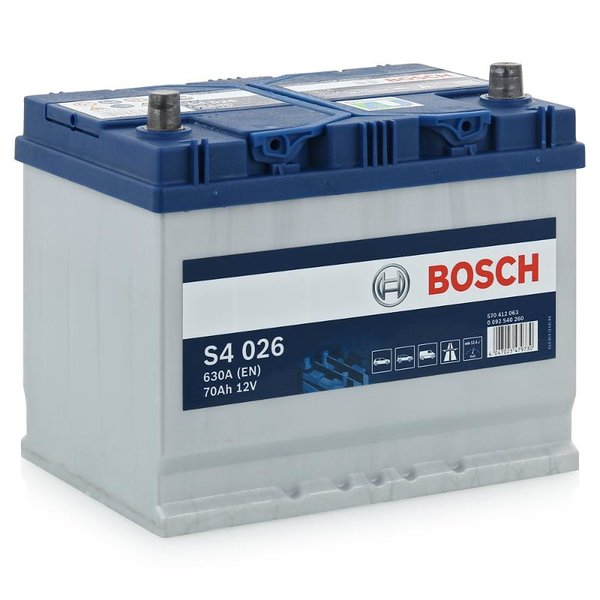 Аккумулятор BOSCH S4 026 Silver 570 412 063