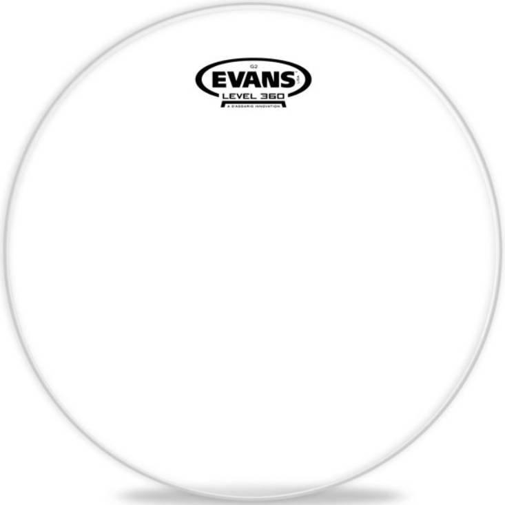 Пластик для малых барабанов и томов evans tt12g2