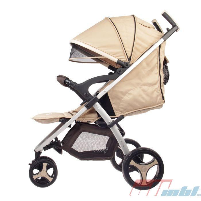 Коляска Liko Baby BT-1218B (бежевый)
