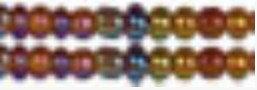 "Бисер ""Zlatka"", цвет: №0162C янтарный, арт. GR 11/0"