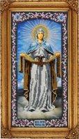 Набор для вышивания иконы Вышиваем бисером L-45 Покрова Пресвятой Богородицы