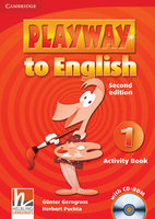 "Gunter Gerngross, Herbert Puchta ""Playway to English Level 1 Activity Book (+ CD-ROM)"""