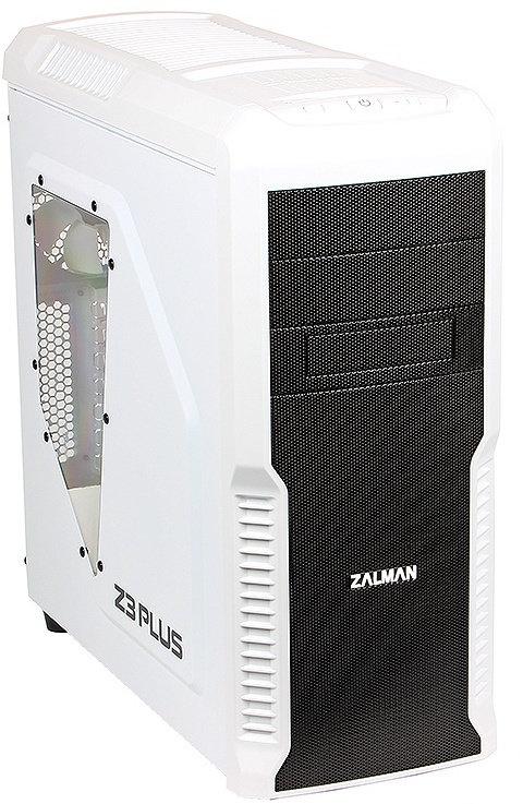 Корпус Zalman Miditower Z3 Plus White