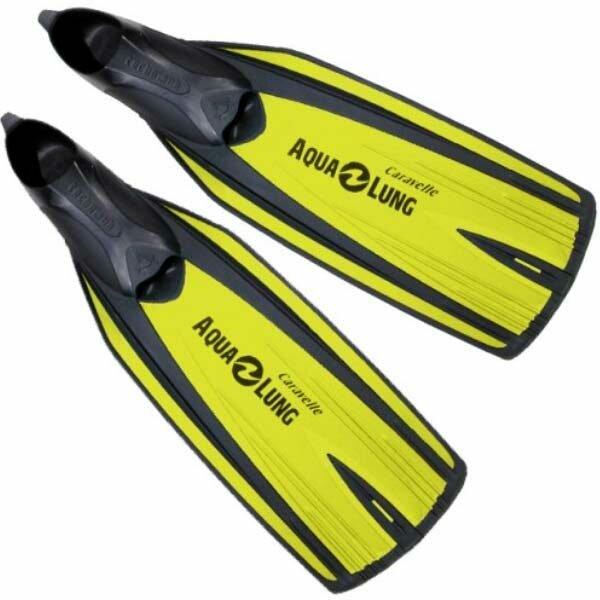 Ласты для плавания детские Aqua Lung Technisub Caravelle, желтый