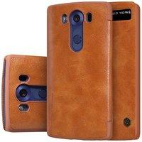Чехол Nillkin Qin Leather Case для LG V10 H961 Brown (коричневый)