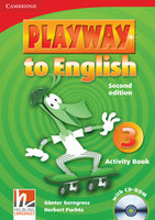 "Gunter Gerngross and Herbert Puchta ""Playway to English (Second Edition) 3 Activity Book with CD-ROM"""