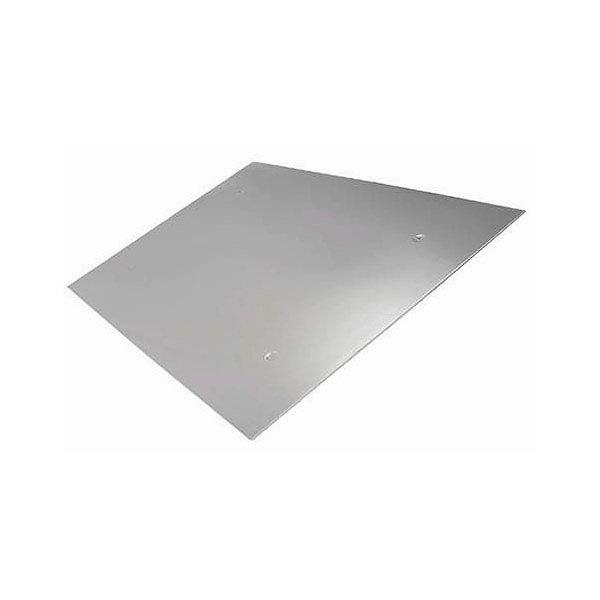 Экран зеркальный 500х500 мм из нержавеющей стали