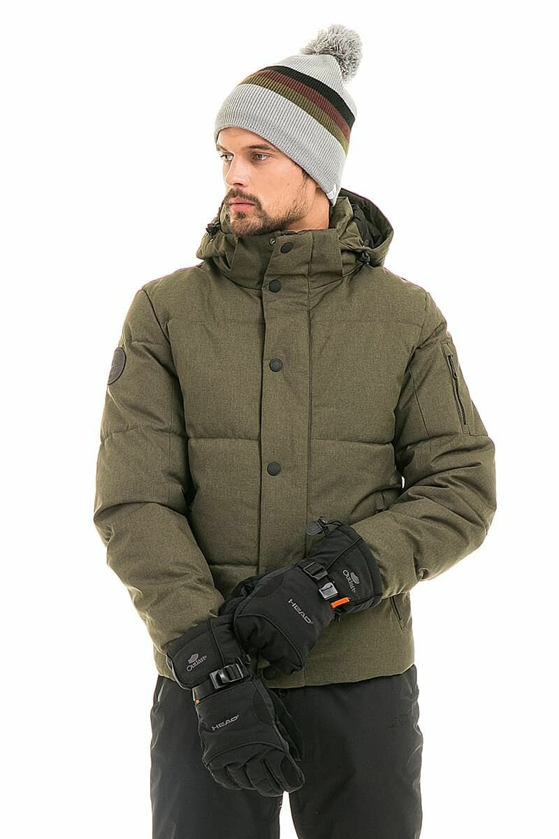 Мужская зимняя Куртка WHS Зеленый, 878389