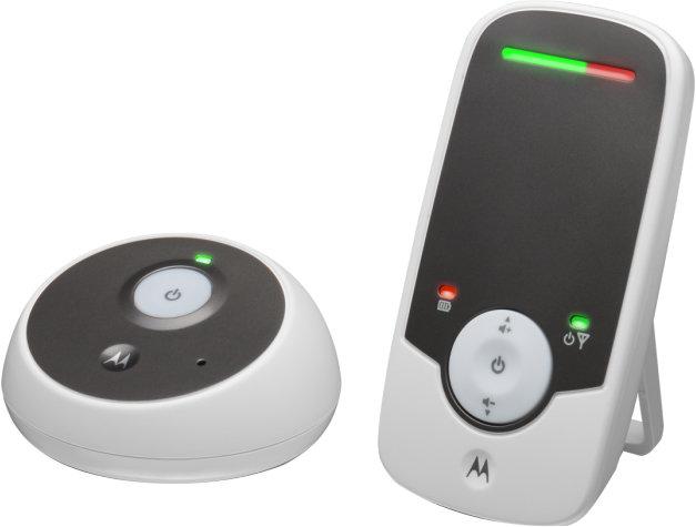 Радионяня Motorola MBP160 (белый)