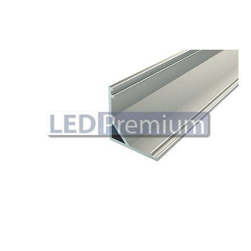 Профиль угловой алюминиевый LPU-1616-2 Anod, 2м