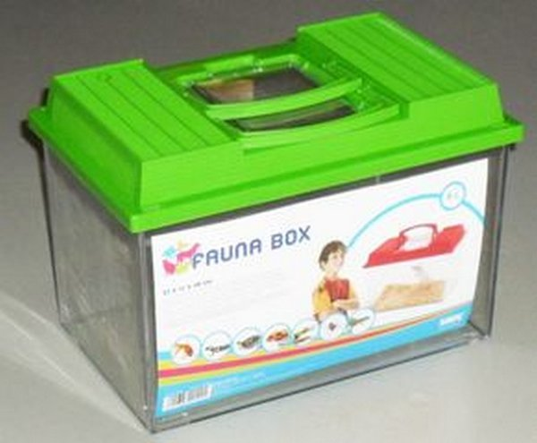 Террариумы Savic 0129 FAUNA BOX Аква-террариум 6л с ручкой 27*17*18см, 800гр, 800 гр