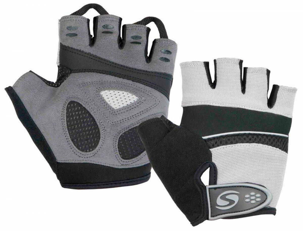 Велосипедные перчатки STELS CG-1181(черный/L)